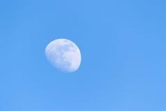 月亮和天空 库存图片