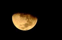 月亮在夜 库存图片