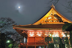 月亮寺庙 免版税库存照片