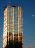 月亮摩天大楼 免版税图库摄影