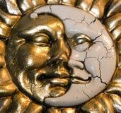 月亮星期日威尼斯 免版税库存照片