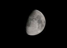 月亮月牙在10月,欧洲 图库摄影