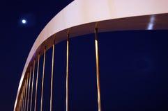 月亮桥梁 免版税图库摄影