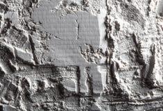 月亮的表面 空间 沙子的纹理在月亮的 图库摄影
