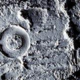 月亮的表面 空间 沙子的纹理在月亮的 免版税库存图片