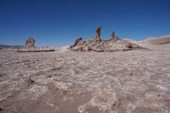 月亮的谷,阿塔卡马,智利 库存照片