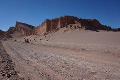 月亮的谷,阿塔卡马,智利 库存图片