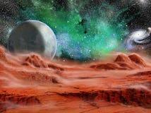 月亮风 免版税库存图片