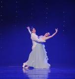 月亮doga华尔兹这奥地利的世界舞蹈的女神 免版税库存照片
