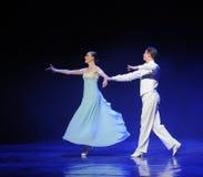 月亮doga华尔兹这奥地利的世界舞蹈的女神 库存图片