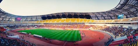 11 11月体育场在罗安达,安哥拉 免版税库存照片