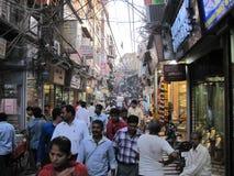 月光广场市场在德里 免版税库存图片