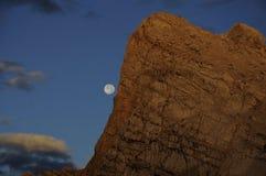 月光日出 库存照片
