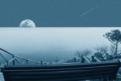 月出 库存图片