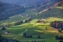 10月在奥地利 库存照片