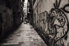 11月在巴勒莫,西西里岛 免版税库存图片