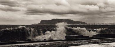 11月在巴勒莫,西西里岛 库存图片