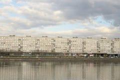 10月堤防在StPetersburg 免版税库存图片