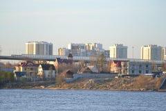 10月堤防 库存图片