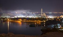 2月夜在Sharm El谢赫 免版税库存照片
