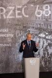 3月大臣会议的` 68大臣副总统,科学和高等教育- Jaroslaw Gowin的 库存图片