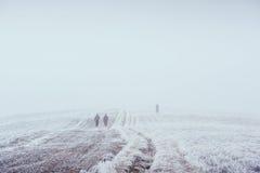 10月山脉在第一个冬日 图库摄影