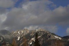 12月山CiucaÅŸ 库存照片