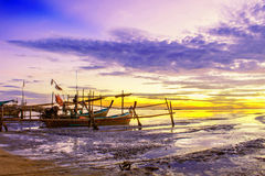 2月底海岛做发埃s海运射击泰国 免版税库存图片