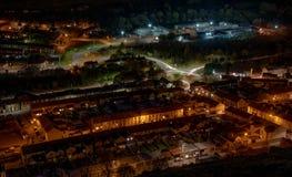 11月晚上, Williamstown 免版税图库摄影