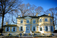月桂树小山历史的豪宅在费城 免版税库存图片