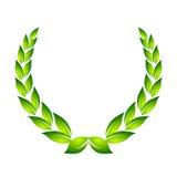 月桂树花圈 免版税库存图片