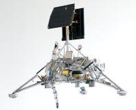 月球卫星测量员 免版税库存图片