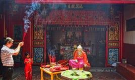 2567月球新年庆祝三宝垄 免版税库存图片