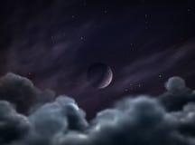 月球的蚀 免版税库存照片