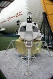 月球的lander 免版税库存图片
