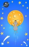 月球老鼠 库存图片