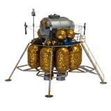 月球著陆器 向量例证