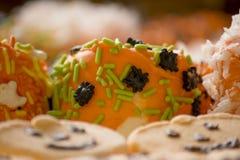 10月甜点 免版税库存照片