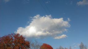 11月的云彩1 免版税库存照片