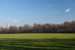 12月的蒙扎公园 库存照片