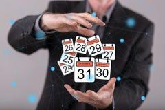 12月的31日概念 免版税库存图片