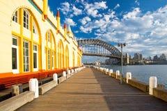 月神公园在悉尼 库存照片