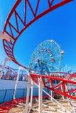 月神公园在科尼岛, NYC 免版税库存照片