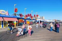 月神公园在科尼岛, NYC 免版税库存图片