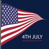 7月美国的独立日四  图库摄影