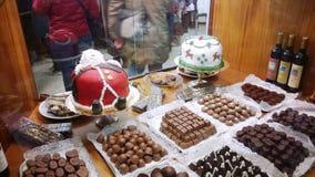 12月蛋糕 免版税库存图片