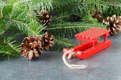 12月装饰befor圣诞节 免版税库存图片