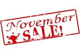 11月销售 免版税图库摄影