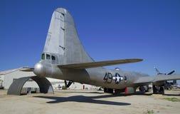 3月领域空气博物馆,加利福尼亚,美国- 2016年3月17日:波音B-29A Superfortress,美国 免版税图库摄影
