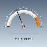5月31日世界没有烟草天 香烟疾病  向量 向量例证